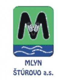 MLYN ŠTÚROVO a.s. (logo firmy)