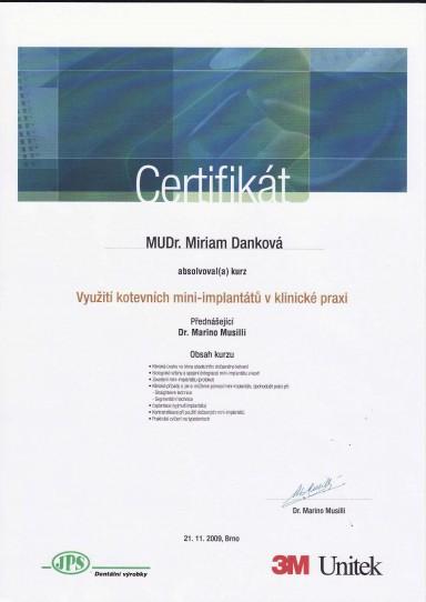 certifikat 8