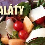Ponuka šalátov ako hlavné jedlo