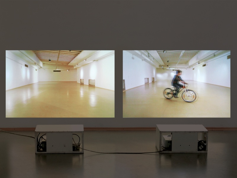 Biking in the Gallery / 100 Years After
