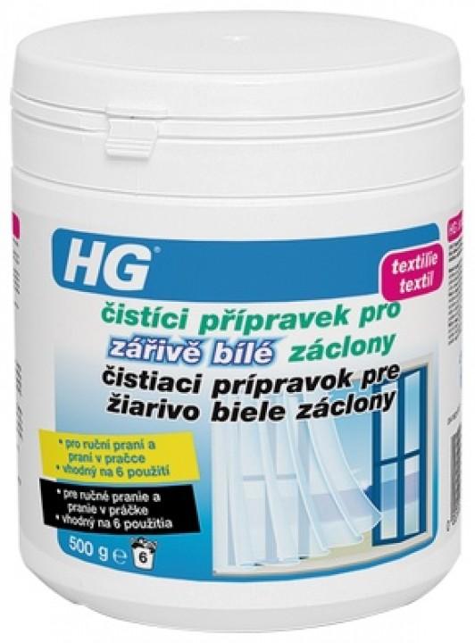 HG soľ na čistenie záclon 500g
