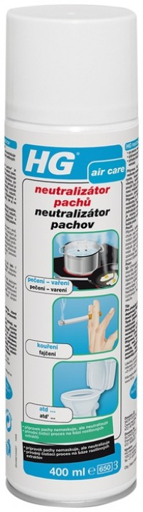 HG neutralizátor pachov 400ml