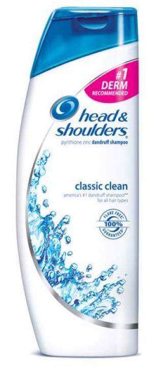 H and S šampón 400ml classic clean