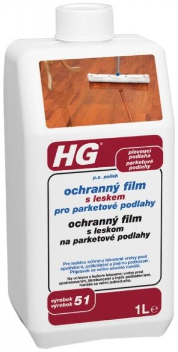 HG ochranný film s leskom na parkety