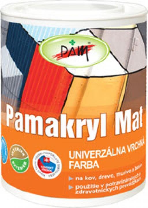PAMAKRYL mat biely 0,7kg