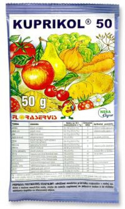 postrek KUPRIKOL 50 50g