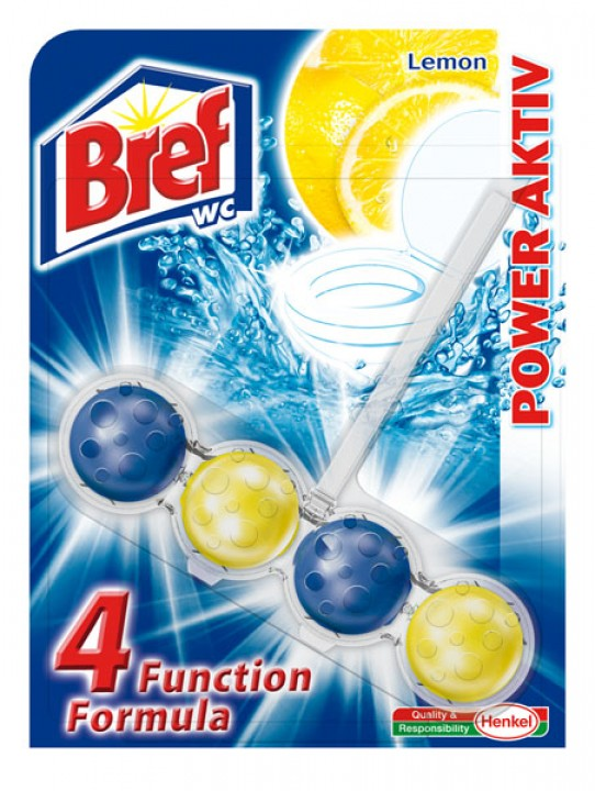 BREF wc power aktiv 50g lemon