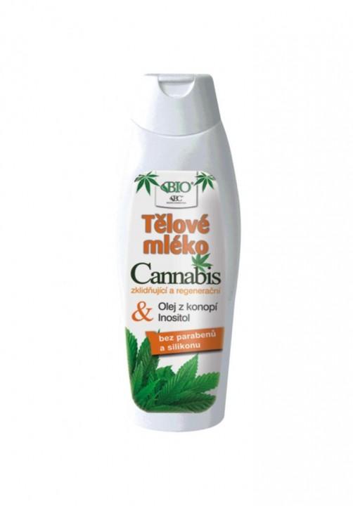 BIONE Cannabis telové mlieko 500ml