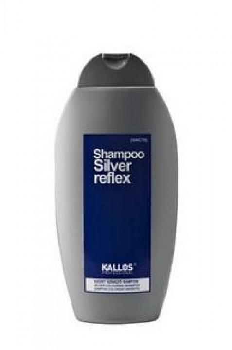 KALLOS šampón 350ml silver reflex