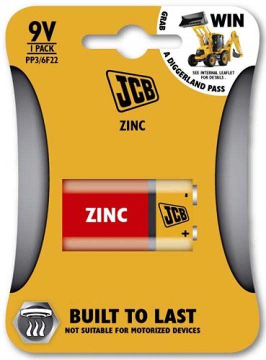 JCB batérie 9V PP3/6F22