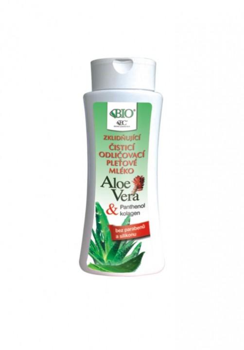 BIONE Aloe vera pleťové mlieko 255ml