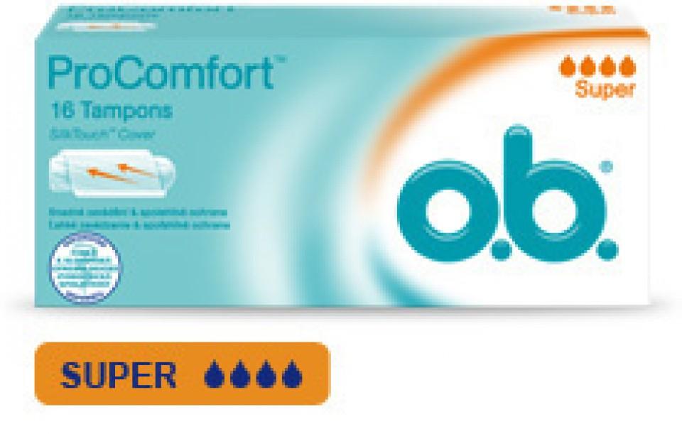O.B.tampóny procomfort super 32ks