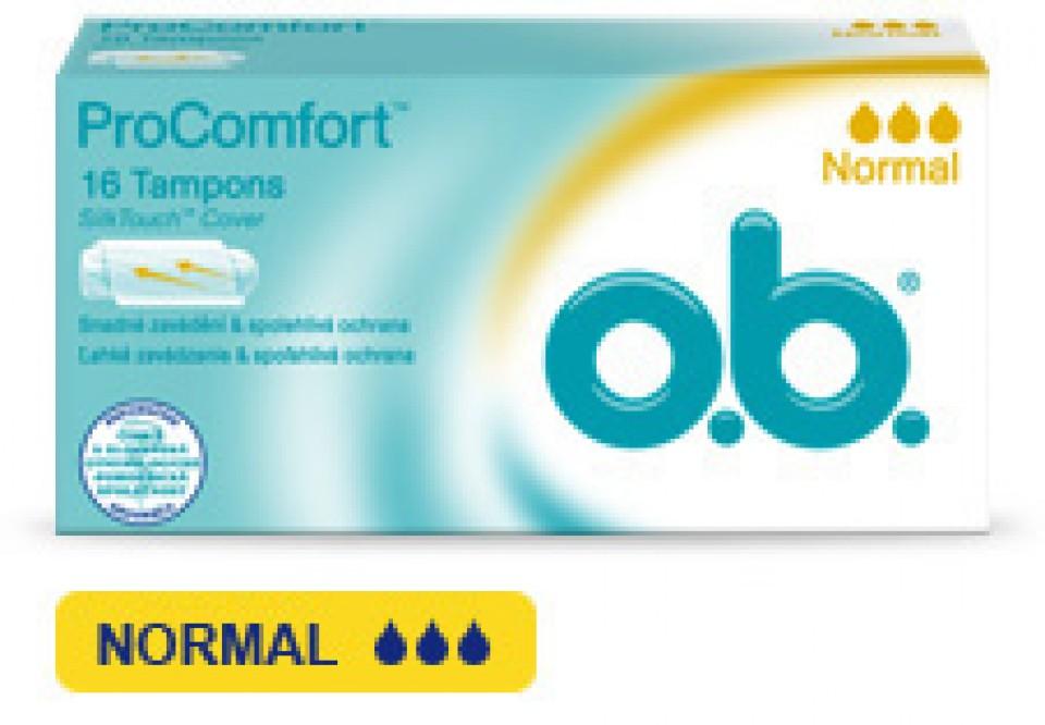 O.B.tampóny procomfort normal 16ks