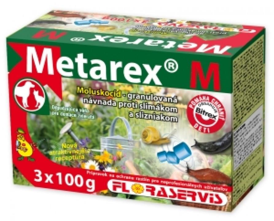 postrek METAREX M 3X100g moluskocíd