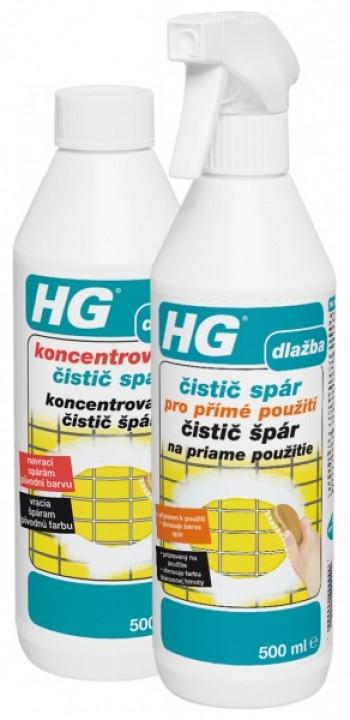 HG čistič špár 500ml