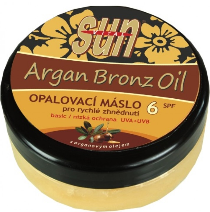 SUN VITAL argan butter 200ml OF6