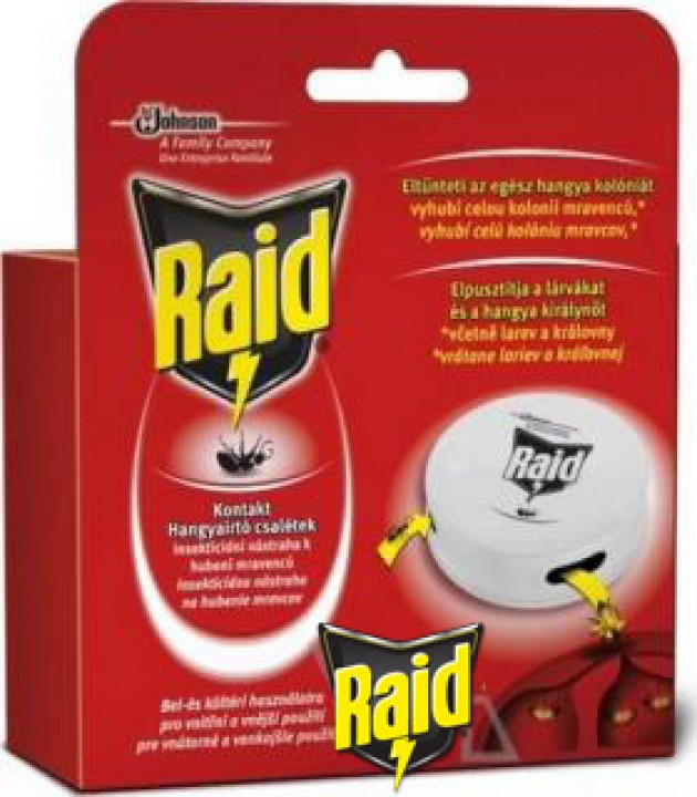 RAID proti mravcom 1ks domček