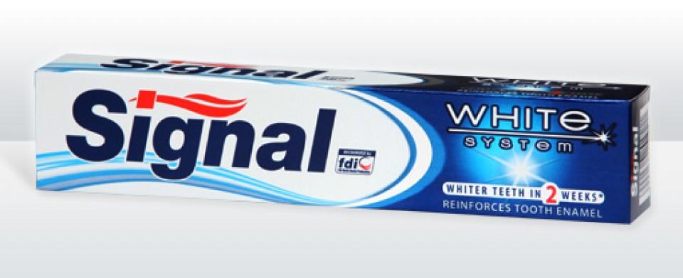 SIGNAL 75ml white system
