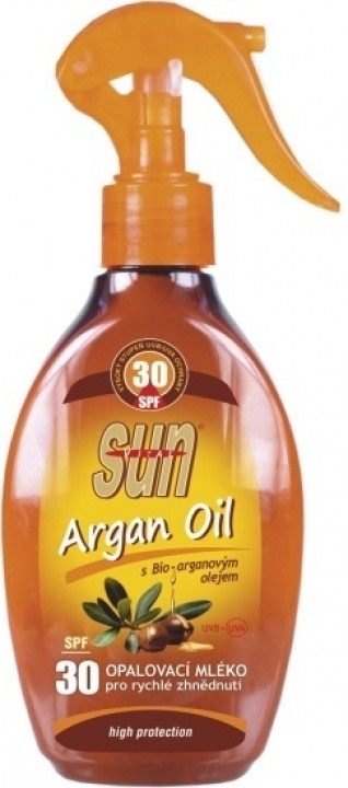 SUN VITAL argan oil 200ml OF30