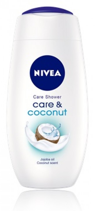 NIVEA sg 250ml care and coconut