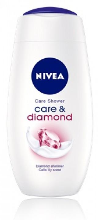 NIVEA sg 250ml care and diamond