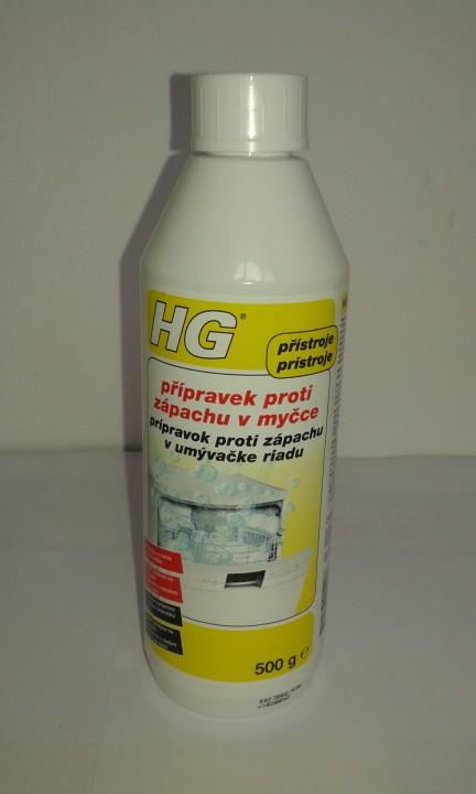 HG čistič umývačky 500g na zápach