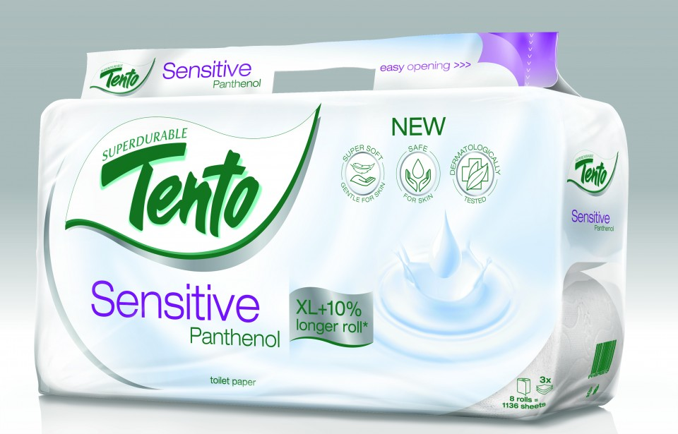 WC papier TENTO Panthenol 8ks 3vr