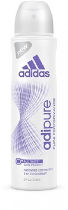 ADIDAS deo 150ml adipure woman