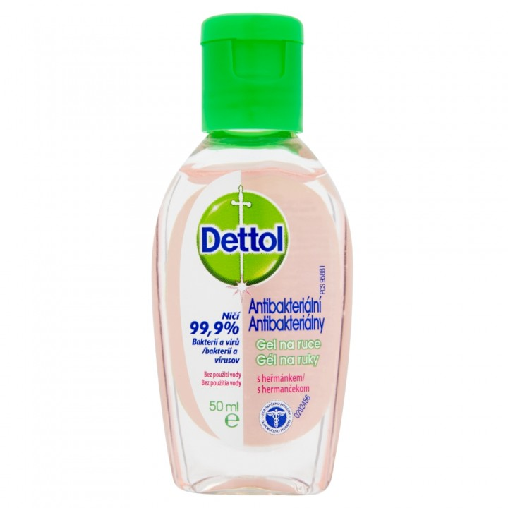 DETTOL GEL 50ML HERMANCEK