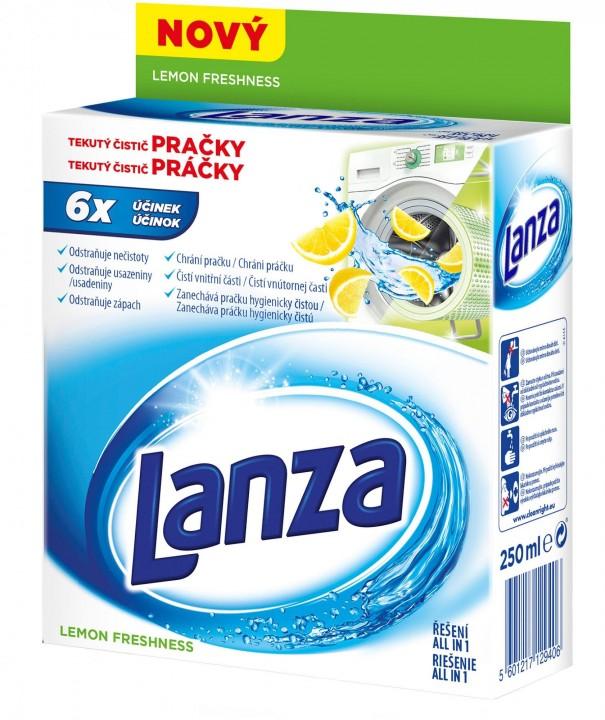 Lanza čistič práčky 2x250ml lemon
