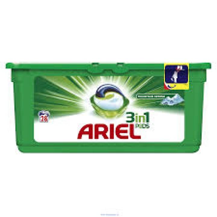 Ariel gélové kapsule 28ks Horský