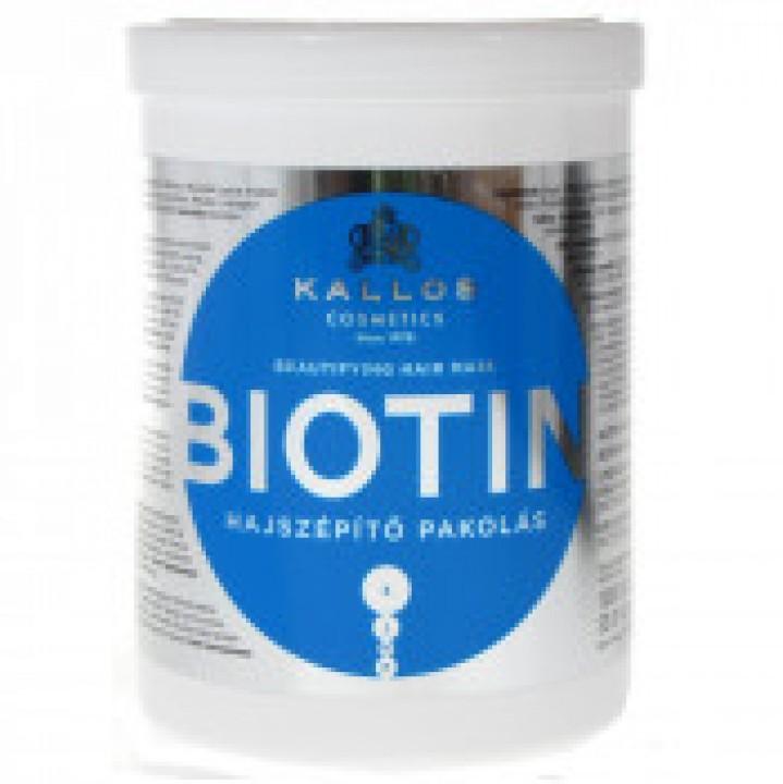 KALLOS maska 1L biotin