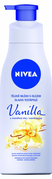 NIVEA BODY MILK 200ML VANILLA