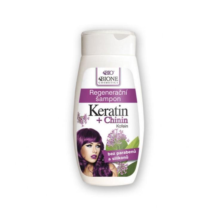 BIONE Keratín+Chinín šampón 260ml