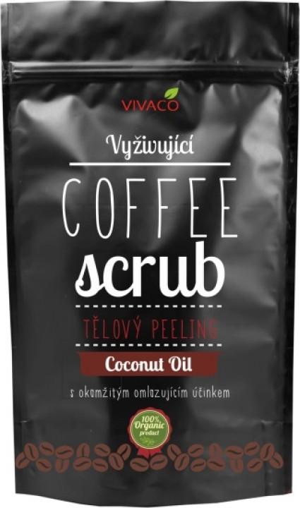 VIVACO Coffee scrub coconut 200g