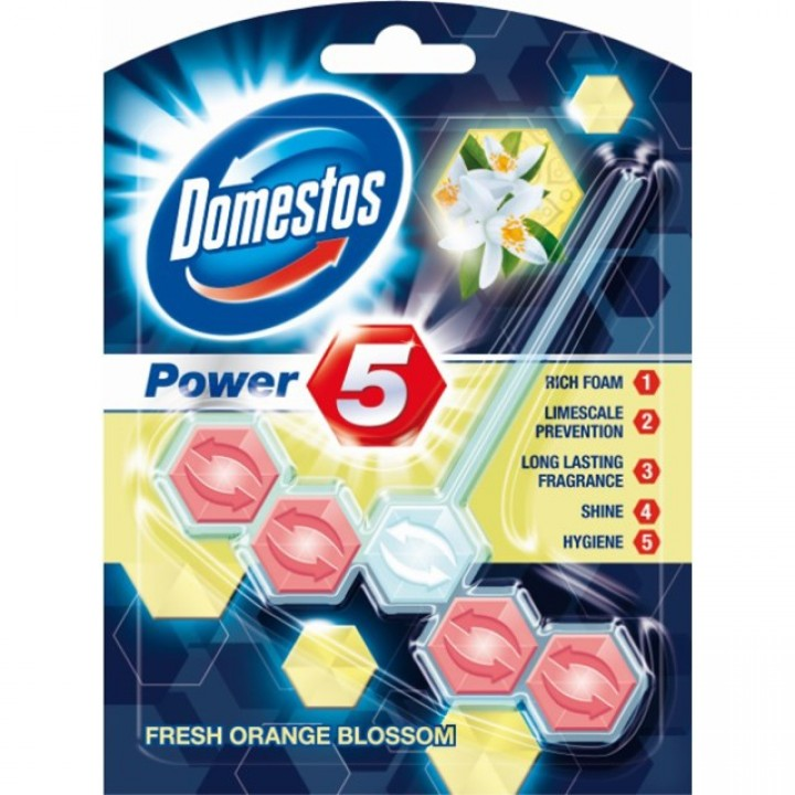 DOMESTOS WC power 5 55g orange