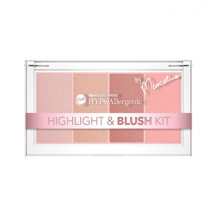 BELL HYPO highlight and Blush palette