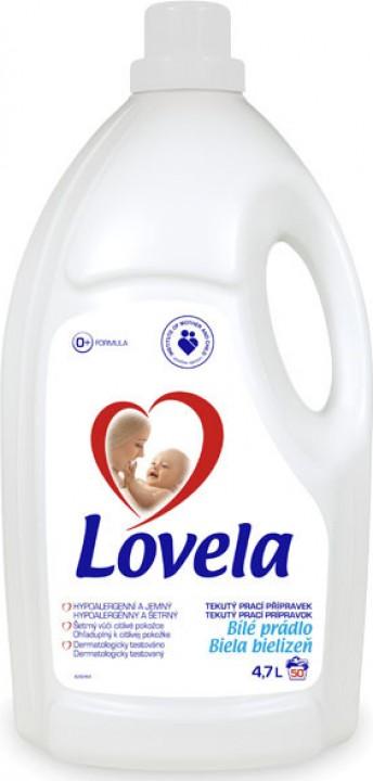 LOVELA gél 4,7l white pranie