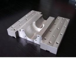 Vzorka frézovania na stroji MicroStep - hliník