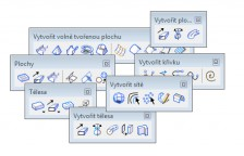PowerCivil - CAD funkcie