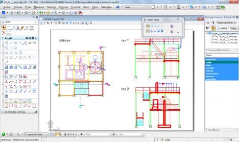 MicroStation V8i - základné rozhranie