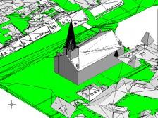 MicroStation - príklad vizualizácie 3D modelu