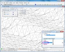 MicroStation - príklad zopbrazenia digitálneho modelu