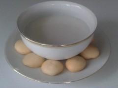 Detské raňajky - ryžové mlieko s piškotami