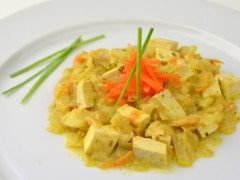 Tofu s kapustou, daikonom a mrkvou BZL