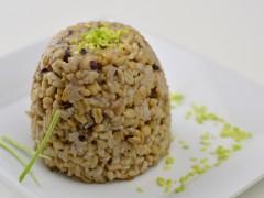 Ovos s naturálnou ryžou