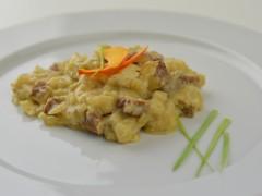 Tofu marinované na cibuľke