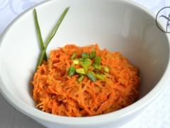 Šalát mrkvový s blackstrapom BZL