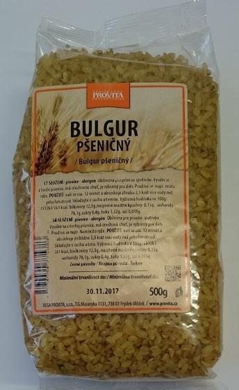 Bulgur pšeničný 500g VP - Pšeničný bulgur