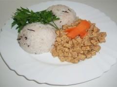 Natural tempeh s jasmínovou ryžou